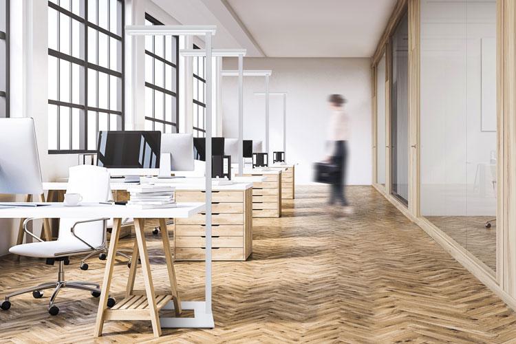 Gutes Licht am Büro-Arbeitsplatz - Elektro-Material AG